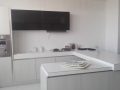 bucatarie Brava 330x240xh212 front laminat larice lacuit maron - Copy