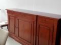 bufet Altana 3 usi 3 sertare 226x53xh112 lemn nuc
