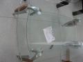 masuta tdesign Scudo 115x66 sticla metal