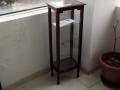 vitrina CTI 35x25xh95 lemn nuc sticla